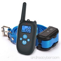 ALTMAN Dog Shock Collar 1000ft Remote Training and 100% Waterproof Rechargeable Shock Collar with Beep Vibration and Electric Dog Collar for All Size Dogs - B071GBGVSQ