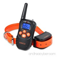 AVANTEK Dog Training Collar with Beep and Vibration  Rechargeable Remote Waterproof Electronic Electric E-collar with LCD Backlight - B078CR2CX1