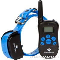 Electronic Training Collar for Dogs with Remote Control - Shock & Bark Collar for Small  Medium and Large Dogs | Waterproof & Rechargeable E-Collars | Pet Obedience Trainer & Correction Device - B07BNV5L1Y