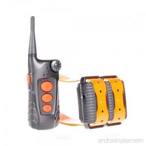 Aetertek At-918c 100% Waterproof Rechargeable Dog Training Shock Collar 600 Yard Auto Anti Bark Function - B0146LHXZS