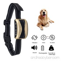 Bark Collar [2018 Latest Chip] Dog No Bark Collar with Beep  Vibration and Harmless Shock USB Rechargeable & Waterproof Anti-Barking Collar for Small/Medium/Large Dogs with 7 Levels. - B07CFKTT72