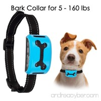 Bark Collar 2018 Rechargeable Waterproof Bark Collars for Medium Dogs Large Small Dog No Bark Collar with Beep / Vibration / Safe Shock and 7 Adjustable Sensitivity Gears for 5lbs-160lbs Dogs - B073TZF75G
