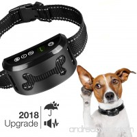 Bark Collar [2018 Upgrade Chip] - Dog No Bark Collar with Static Vibration Correction USB Rechargeable with 7 Sensitivity Levels for All Breeds and Sizes Trainer Recommended Dog Bark Control Device - B0782Q68CB
