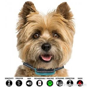 Bark Collar | Bark Collar Small Dog | Small Dog Bark Collar | Small Dog Shock Collar | Shock Collar Dog Bark Collar | Dog Shock Collar | Shock Collar for Small Dogs | Dog Bark Collar | 5lb Plus - B07BZFBKGH