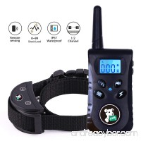 Fiddy Dog Shock Collar for Dog Training  Waterproof No Bark Collar and 550 Yard Remote Pet Training Set for Puppy Small Medium Large Dogs - B07DW3BMSW