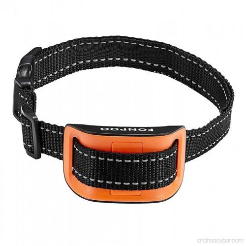 Fonpoo Bark Collar Shock Collar For Dogs Training Collars