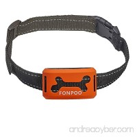 FONPOO No Bark Collar FP-668V  100% Safe Warning Beep & Safe Vibration Bark Collar  Rechargeable Training Collar For Small Medium And Large Dogs  Beep  Vibration and Sensitivity Anti Bark Reflective - B074XY16L6