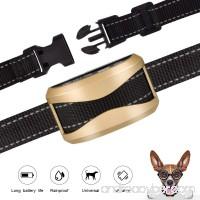 GEEDIAR Bark Collar Dog No Bark Collars Vibration No Harm Shock Collar - USB Rechargeable Humane Anti Bark Training Collar - Stop Barking Collar for Small Medium Large Dogs - B07F13JBG6