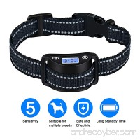 Kunya Bark Collar  Rechargeable Puppy Bark Collar  5 Adjustable Sensitivity Modes  Sound  Vibration  Shock  No Bark Collar for Small  Medium  Large Dogs All Breeds  Harmless and Humane - B07F8L5WSW