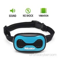 MaKa Dog Barking Control  Training Collar for Small & Medium Sized Dogs- Humane  Safe  No-Shock Anti-Bark Collar - Stop Barking With Vibration & Sound Stimuli - 7 Levels Sensitivity Adjustment - B06XBGW7JM
