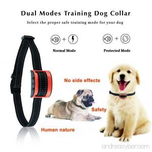 Oternal Bark Collar Stop Dog Barking - Humane and Harmless Anti Bark Dog Training Collar - Smart Barking Detection Collar - Control Dog Bark for Small Medium Large Dog - B07F8VH8KV