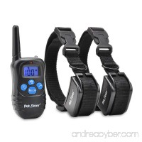Petrainer PET998DRB Dog Training Collar Rechargeable and Rainproof 330yd Remote Dog Shock Collar with Beep Vibration and Shock Electronic Collar - B00W6V6LJK