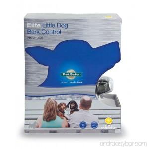 PetSafe Elite Bark Control Collar Anti-Bark Training Device Static Correction Waterproof - B004HKMEX0