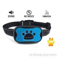 RVG Products No Bark Dog Collar for Small  Medium  Large Breeds | No Shock  Anti-Bark Vibration and Warning Sounds | 7 Sensitivity Levels | Safe Puppy and Adult Obedience Training - B073ZQ528L