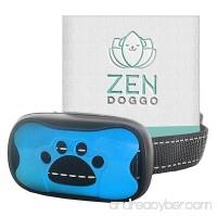ZenDoggo Anti Bark Collar - NO SHOCK SAFE - Small to Large Dogs & Puppies - Vibration & Sonic Sound - Humane Electronic Training Device to Stop Barking - 7 Automatic Sensitive Adjustable Levels - B072KMGX8F