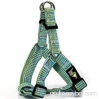 5280DOG Sea Green Braided Step-In Harness - B074RHP4BR