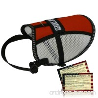 Flow-Tec Mesh Service Dog Vest with 50 FREE Service Dog ADA Info Cards - Sizes 11-24 - B00MALSR2K