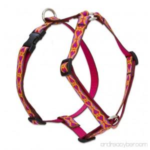 Lupine 3/4 Inch Heart 2 Heart Roman Dog Harness - B00D3ZJ1QS