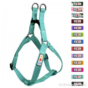 Pawtitas Pet Soft Adjustable Step-In Reflective Puppy / Dog Harness - B00OBX3EKK