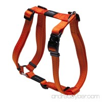 Rogz Utility Large 3/4-Inch Reflective Fanbelt Adjustable Dog H-Harness - B002HEXRGQ