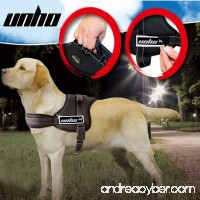 Unho Dog Body Harness Padded Extra Big Large Medium Small Heavy Duty vary from All kinds of size - B00W7C6SDC