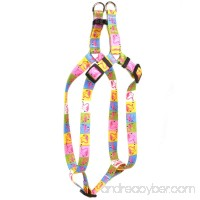 Yellow Dog Design Pink Flamingo Step-In Dog Harness - B01N8PTKLF