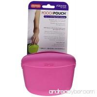 By-Dexas Pet Treat Pouch Pink Pooch Pouch Training Belt Clip Travel Dog Treat Waist Pouch - B07F49X9N1
