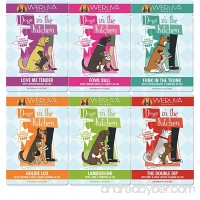 Dogs in the Kitchen - By Weruva (Variety Pack 4 of each flavor 2.8 Ounce Pouches (24 Pack)) - B00ZXSGSSW