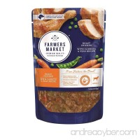 Farmers Market Pet Food Premium Natural Wet Dog Food Pouch 5.3 oz (Case of 24) - B07236L53L