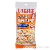 Inaba wet dog food Chicken Fillet Topping Sweet Potato and Vegetables 1 pack contains 60 g x 3 pouches (180 g .) - B0774VB317