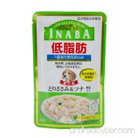 INABA wet dog food LOW FAT series Chicken Fillet&Tuna Vegetables in jelly (80 g. x 3 Packs ) - B0775ZH5PK