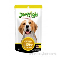 Jer High Dog Food in Pouch Chicken & Liver in Gravy 120 g x 2 - B00TPO89QE