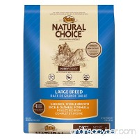 NATURAL CHOICE Puppy Large Breed Chicken  Whole Brown Rice and Oatmeal Formula  15 lbs. - B009B845J4