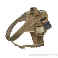 EXCELLENT ELITE SPANKER Tactical Dog Harness Military Training Patrol K9 Service Dog Vest Adjustable Working Dog Vest with Handle - B076FQP148