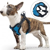 Front Clip Dog Harness for Small Doggy PETBABA No Pull Adjustable Reflective at Night Walking Soft Air Mesh Chest Vest for Training Your Pet - B072XH5HZ2