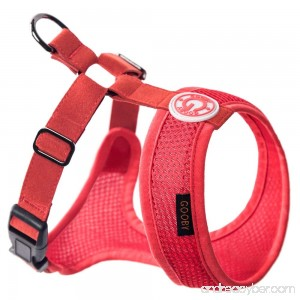 Gooby Choke Free Freedom Mesh Harness Specially Made for Small Dogs X-Small Black - B00HFQZOYE