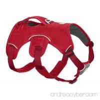 RUFFWEAR - Web Master Dog Harness with Lift Handle Red Currant Medium - B01N10GGKT