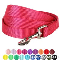 Blueberry Pet Classic Solid Color Dog Leash 19 Colors Matching Collar & Harness Available Separately - B00HWQS34U