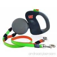 Dual Doggie Pet Leash - Up to 50 Lbs Per Dog and Zero Tangle - Walk Two Dogs At Once - B00B5N4KJI