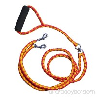 EZ 2 Walk Dual Dog Leash for Small and Medium Sized Dogs with Soft Handle | Walking and Training Leash for Two Dogs | No Tangle - B078YXVK62