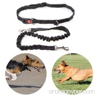 Dog Leash Running Hands Free Dog Leash Retractable Bungee Belt Perfect For Small Medium Large Dogs Walking Training Hiking Adjustable Waist Belt Safe Pet Leash Collar Harness Supplies Pet Leashes - B07C66B99J