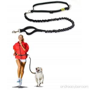 Hertzko Hands-Free Weather Resistant Dog Leash - B012LEJIVY