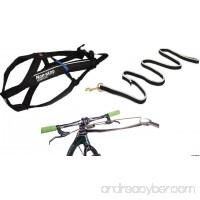 Non-stop dogwear Bikejor & Scooterjor Starter Kit: Bike Antenna  9.2 foot/2.8 metere Bungee Line and Freemotion Harness by (6 - Medium) - B071F47YV9
