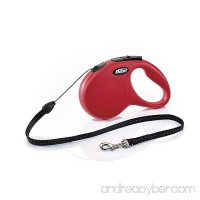 Flexi CL10C5.250.R New Classic Cord Retractable Leash Red Small/16' - B0748NKG93