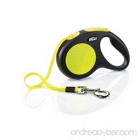 Flexi New Neon Retractable Tape Dog Leash - B01LQG669K