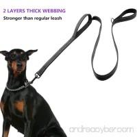Heavy Duty Dog Leash Reflective 2 Padded Handles Dog Training Walking Leashes - 5ft Long For Medium to Large Dogs - B078HXQ89K