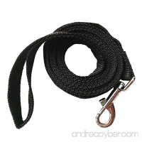 Hulless Dog leash Nylon training leash Dog traction rope Black dog leashes for small dogs Great for dog training Play Camping or Backyard. - B01MFGJEOI