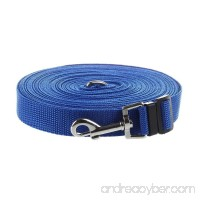 TOOGOO(R) Blue 50ft/15m Long Dog Pet Puppy Training Obedience Lead Leash - B00O2MAEIU
