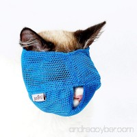 Cat Muzzles - Breathable Mesh Muzzles Prevent Cats from Biting and Chewing - Anti Bite Anti Meow - B073JXSBD4