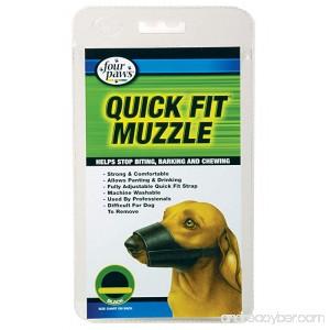 Four Paws Quick Fit Muzzle Size 0-XXS - B001OVGLW0